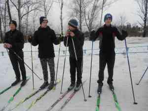 лыжи мал